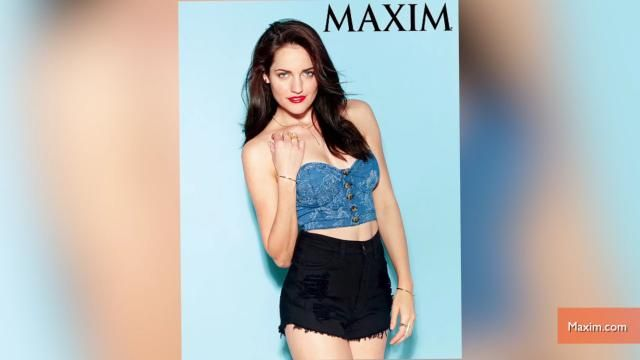 News video: 'Breaking Amish' Star Poses in Sexy Maxim Shoot
